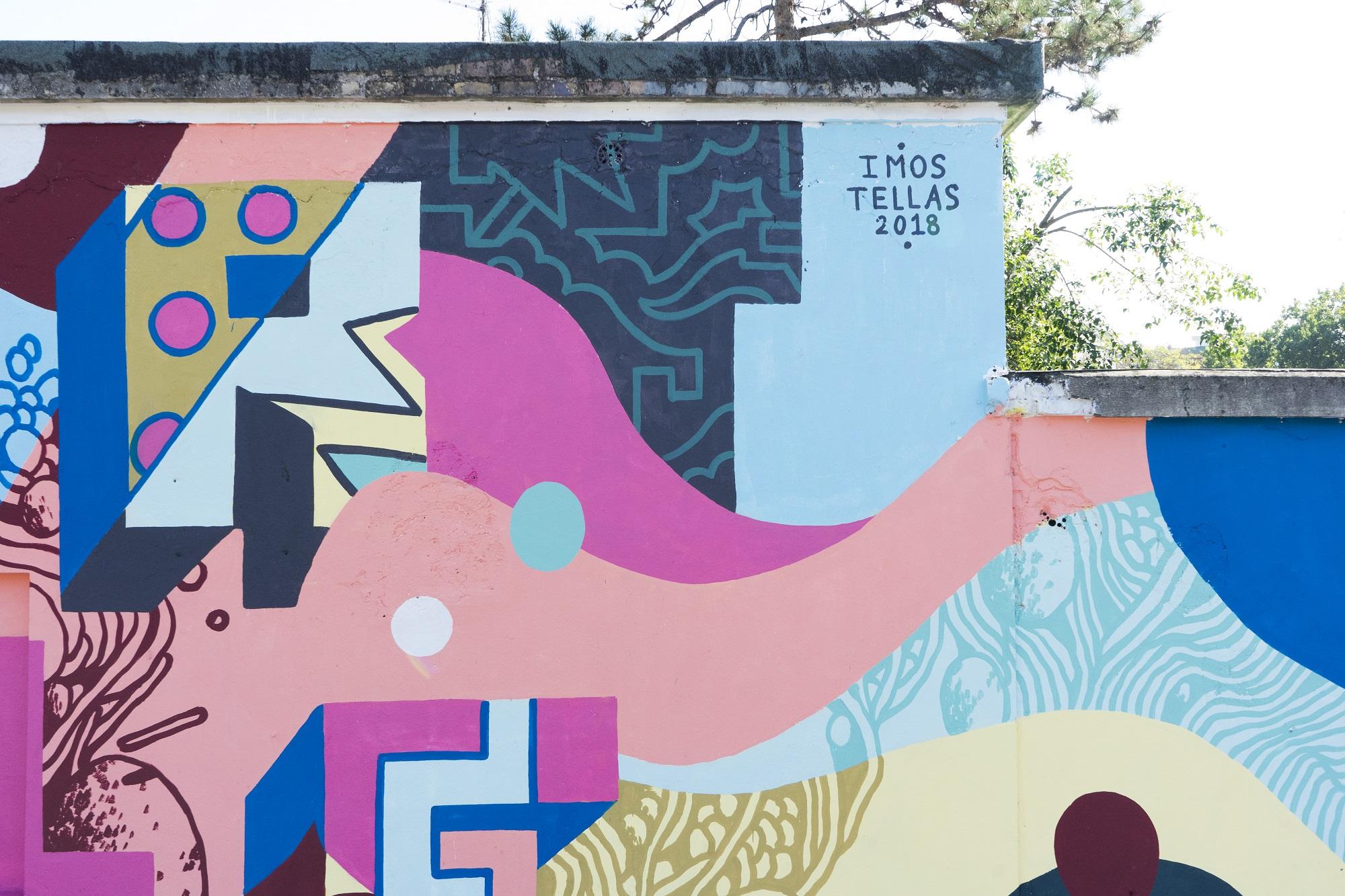 Tellas Imos Strike - Spazio Pubblico Autogestito Graffiti Street Art